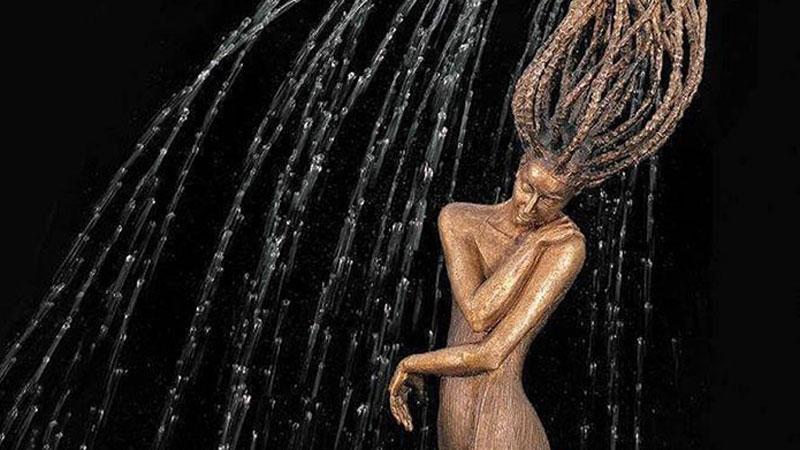 Obok rzeźb-fontann polskiej artystki nie sposób przejść obojętnie. To prawdziwe dzieła sztuki!