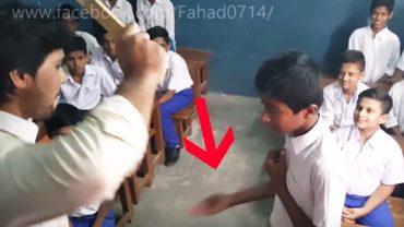Nauczyciel codziennie bił go po rękach za to, że spóźniał się do szkoły. Mimo to chłopak nie chciał wyjawić smutnej prawdy o swoim życiu