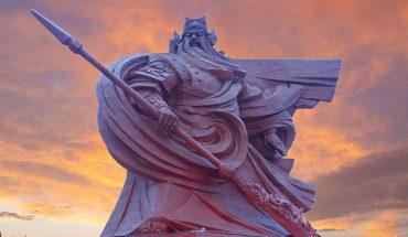 Chińczycy po raz kolejny zaskakują rozmachem swoich projektów. Tym razem odsłonili gigantyczny pomnik boga wojny