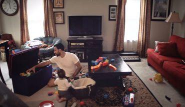 Pewna kobieta była ciekawa, jak mąż opiekuje się ich dzieckiem i zainstalowała ukrytą kamerę…. Co nagrała?