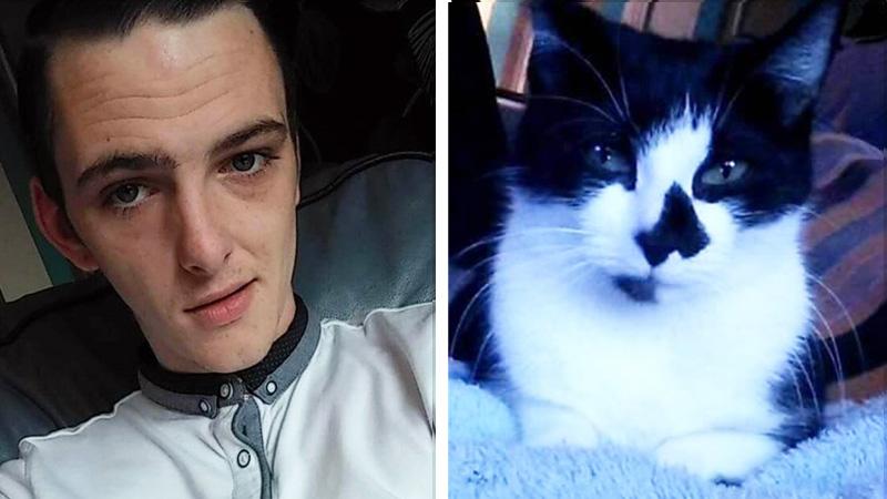 Potajemnie nakręcił swojego partnera, który robił kotu niewyobrażalne rzeczy. Uwaga: Nie dla wrażliwych!