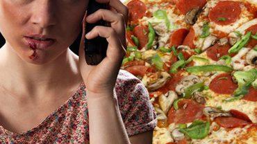 Kobieta zadzwoniła pod numer alarmowy 911, aby zamówić pizzę. Dyspozytor miał się rozłączyć, gdy nagle coś zwróciło jego uwagę