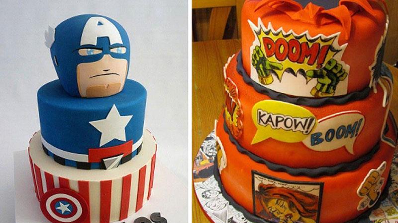 Jeśli jesteście fanami komiksów, to oszalejecie na punkcie tych zjawiskowych i pomysłowych tortów