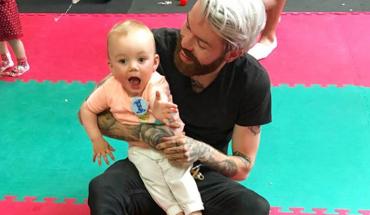 Wytatuowany i brodaty zawodnik MMA skradł Internet swoją wypowiedzią o synu