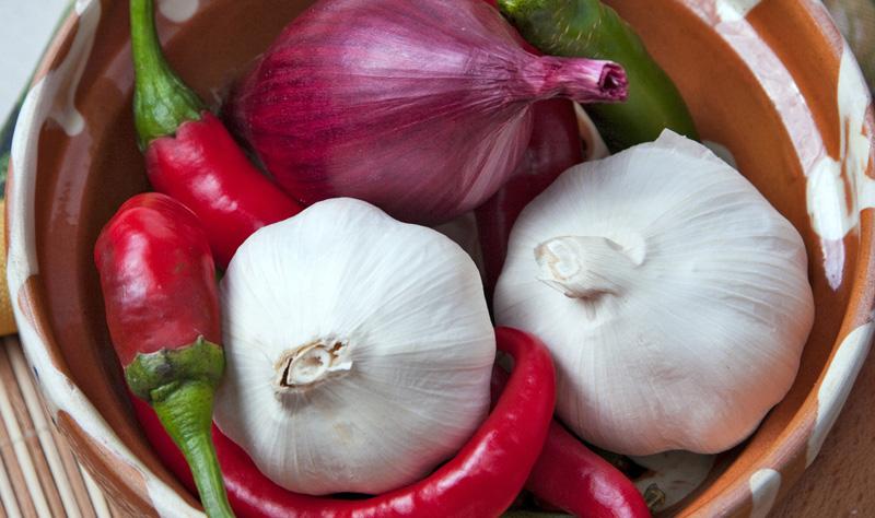 garlic-chilli