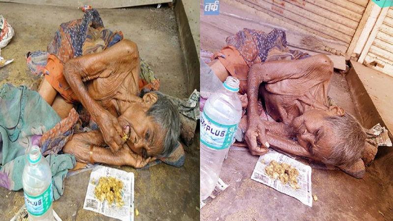 Rodzina wyrzuciła tę kobietę na ulicę jak niepotrzebny przedmiot. Niedożywiona i słaba leżała przy drodze oczekując na śmierć