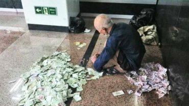 Nawet nie zdajesz sobie sprawy, ile pieniędzy zgromadził ten żebrak, prosząc o jałmużnę na ulicach Dubaju