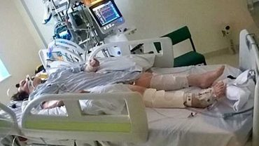 W wypadku złamała kości karku, gdy lekarze mieli odłączyć aparaturę podtrzymującą jej życie zdarzył się cud!