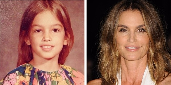 famous-models-in-childhood