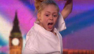 """W programie """"Mam talent"""" wśród dzieci dominują popisy wokalne, ale ta dziewczyna pokazała zupełnie inne umiejętności"""