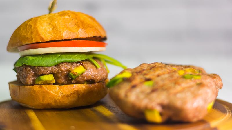 Burgery awokado