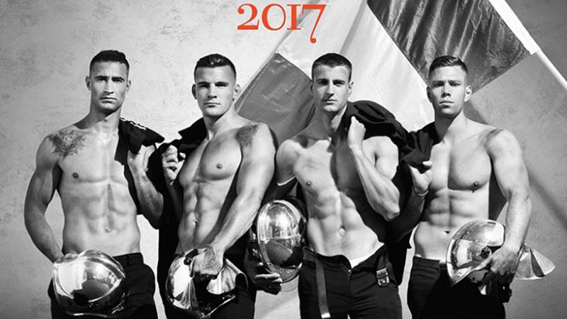 Francuscy strażacy ponownie rozebrali się w szczytnym celu, biorąc udział w sesji zdjęciowej do kalendarza na 2017 rok