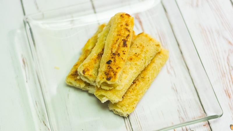 Studenckie zawijane tosty