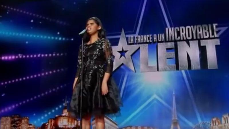 Aliènette za swój występ została nagrodzona owacjami na stojąco, ale niestety nie mogła tego zobaczyć...