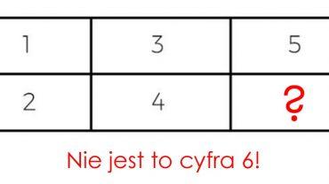 Każdy stara się rozwiązać tę zagadkę, ale tylko nieliczni robią to poprawnie. Brakującą cyfrą nie jest 6!