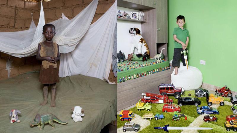 Uwiecznił na fotografiach dzieci z całego świata i ich zabawki. Dwa pierwsze zdjęcia wzruszają do łez