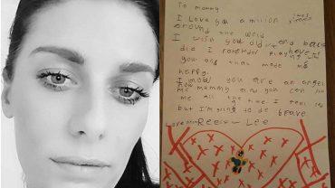 8-letni chłopiec napisał list do zamordowanej matki. Ostatnie zdanie łamie serce
