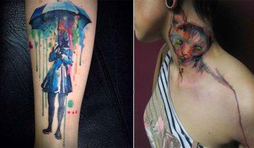 Te tatuaże to miniaturowe dzieła sztuki przypominająceakwarele. Zakochają się w nich nawet przeciwnicy trwałych malunków na ciele