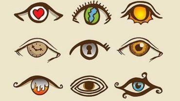 Przyjrzyj się uważnie tym obrazkom. Oko, które wybierzesz, powie wiele na temat Twojej osobowości