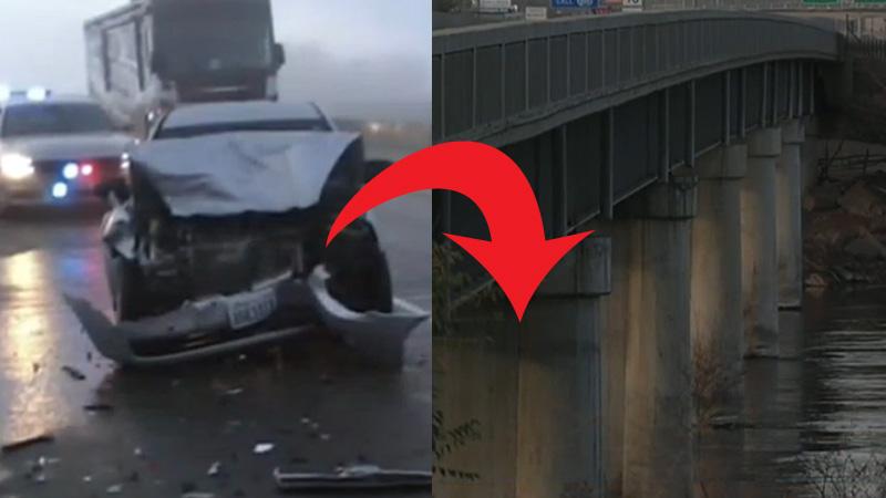 Po wypadku samochodowym spadł 50 m i uderzył o taflę lodowatej i rwącej rzeki. Przy życiu trzymała go jedna myśl!