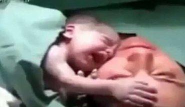 Pielęgniarka pokazała mamie nowo narodzone dziecko. Chwilę później wydarzyło się coś, czego nikt się nie spodziewał