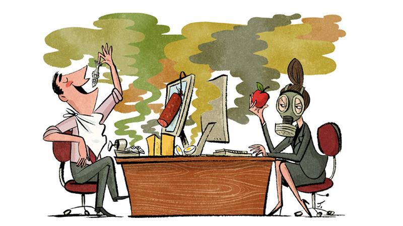 Jeśli nie robisz sobie w pracy przerwy na posiłek, możesz mieć kłopoty ze zdrowiem i… relacjami społecznymi