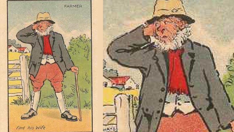 Pomóż rolnikowi znaleźć żonę! Przyjrzyj się uważnie, na pewno gdzieś tam jest