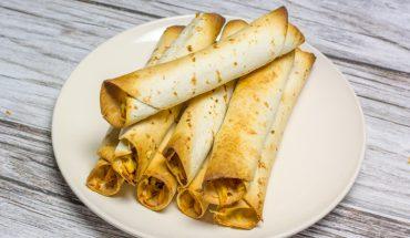 Pieczone tortille w stylu meksykańskim