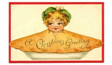 Oto pocztówki bożonarodzeniowe z epoki wiktoriańskiej. Czy ktoś dzisiaj zrozumie, co ich autorzy mieli na myśli?