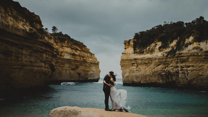 Najpiękniejsze zdjęcia ślubne 2016 roku. Zobaczcie, jakie scenerie stanowią najlepsze tło do pokazania miłości nowożeńców