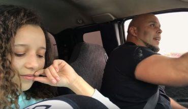 15-latka nagrała, jak jej tata śpiewa prowadząc samochód i wrzuciła materiał do sieci. Nagranie natychmiast stało się hitem