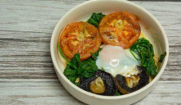Zdrowo zapiekane śniadanie