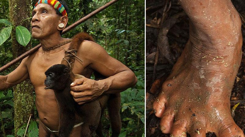 Wyglądają jak normalni ludzie, ale natura obdarzyła ich czymś jeszcze. Wystarczy spojrzeć na ich stopy!