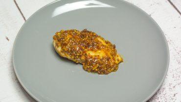 Miodowe piersi z kurczaka z musztardą dijon