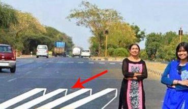 Na tej drodze ciągle dochodziło do wypadków. Dwie kobiety narysowały coś, co zmusza kierowców do hamowania!