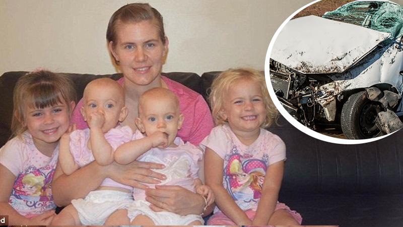 Matka z 4 dzieci miała straszny wypadek. Jej pięcioletnia córka wykazała się niezwykłą odwagą i siłą, które uratowały rodzeństwo