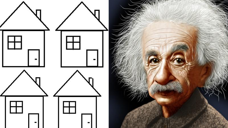 Najsłynniejsza zagadka Einsteina, którą poprawnie rozwiązuje tylko 2% osób! Sprawdź, czy jesteś w grupie szczęśliwców!