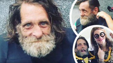 Podeszła do bezdomnego i zadała mu jedno pytanie, to całkowicie zmieniło jego życie