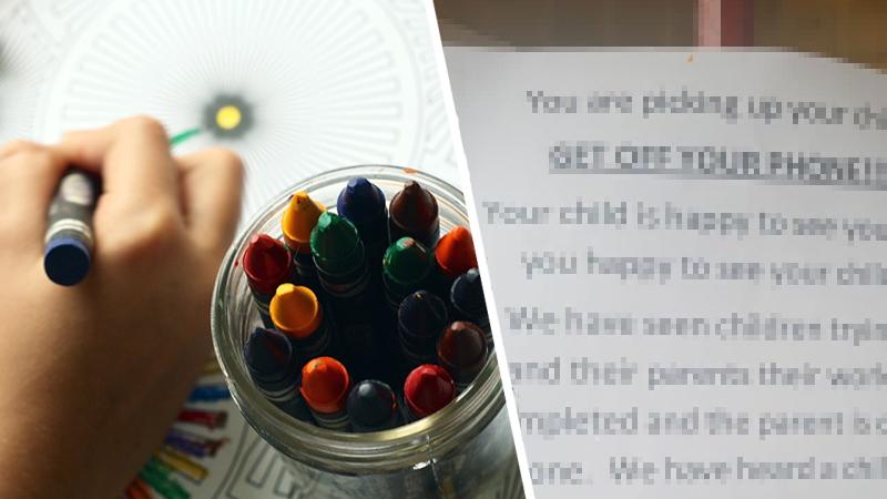 Rodzice przyszli po dzieci do przedszkola. Na drzwiach zobaczyli kartkę, która wywołała wywołała wśród nich ogromne oburzenie