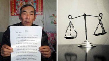 Chiński rolnik przez 16 lat na własną rękę studiował prawo, poszedł do sądu i wygrał! Sprawdźcie, kto i dlaczego tak bardzo zalazł mu za skórę