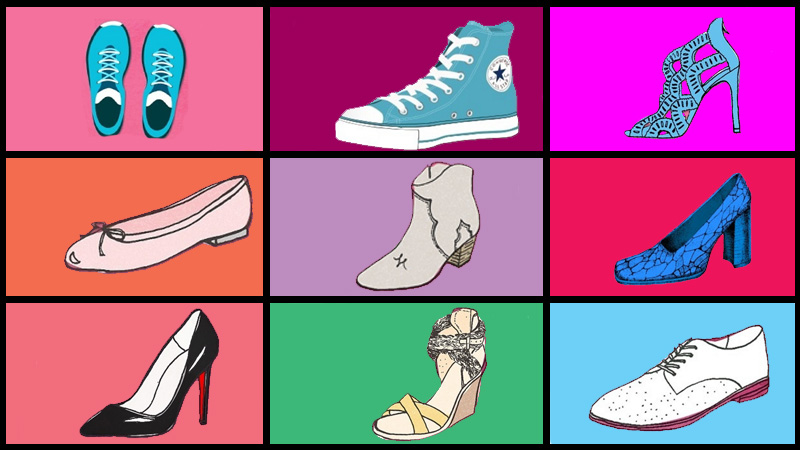 Okazało się, że 90% informacji o tobie zdradzają... twoje buty. Wybierz ulubione i przekonaj się, czy mają rację