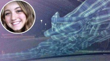 Na szybie jej samochodu leżała flanelowa koszula. Wiedziała, jakie są konsekwencje jej ściągnięcia, więc natychmiast zaczęła uciekać!