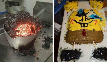 Największe kuchenne porażki, jakimi pochwalili się internauci. Te fotki wywołają uśmiech na każdej twarzy, bo nic tak nie cieszy, jak cudza wpadka