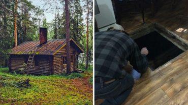 John odkrył tajemniczą piwnicę w swojej leśniczówce. Gdy zszedł do jej mrocznego wnętrza i zobaczył zawartość, miał wrażenie, że to przedsionek piekła