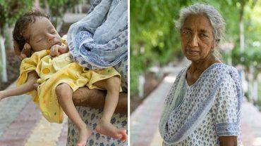 """""""Macierzyństwo jest trudniejsze niż myślałam"""" – mówi Daldzhinder Kaur, która swoje pierwsze dziecko urodziła w wieku… 72 lat!"""