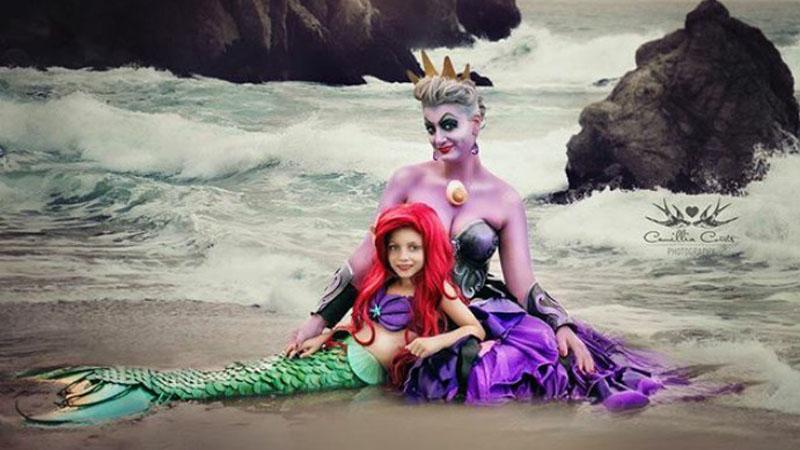Dzięki Camilli mała Layla może na chwilę zmienić się w księżniczkę. Zobaczyłam te zdjęcia i się zakochałam
