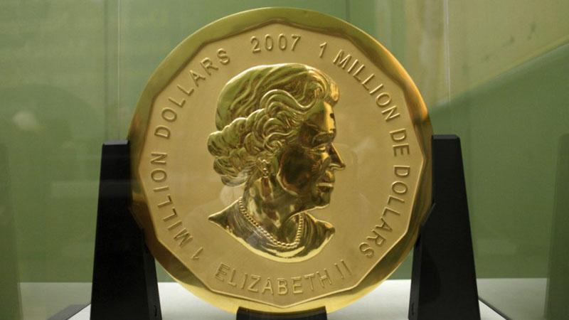 Jak oni to zrobili? Złodzieje ukradli ogromną, 100-kilogramową monetę z muzeum w stolicy Niemiec