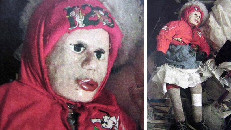 Policjant zaczął wąchać lalkę znalezioną w mieszkaniu 45-latka. Nie spodziewał się, że za chwilę odkryje mrożącą krew w żyłach tajemnicę!