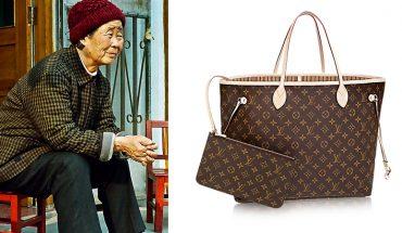 Wnuk kupił biednej babci torbę Louis Vuitton za 1000 $. Nie uwierzysz, do czego ją wykorzystała!