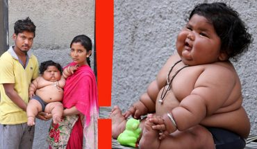 Choć ma zaledwie osiem miesięcy, jej ciężar mówi co innego. Chorobliwie otyła dziewczynka waży już tyle, co czteroletnie dziecko! Rodzice nie mają pojęcia jak powściągnąć jej apetyt